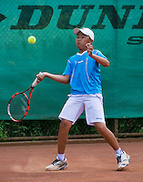 August 4, 2014, Netherlands, Dordrecht, TC Dash 35, Tennis, National Junior Championships, NJK,  Jing Long Weng (NED)<br /> Photo: Tennisimages/Henk Koster