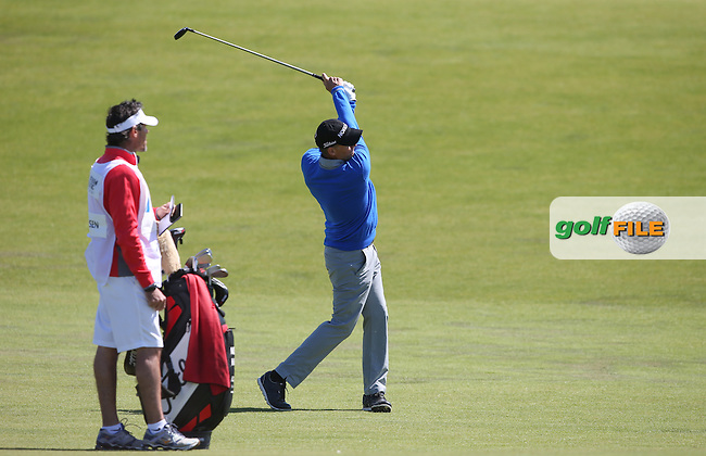 Anders Hansen (DEN) plays second shot to the 8th during Round Two of the 2015 Nordea Masters at the PGA Sweden National, Bara, Malmo, Sweden. 05/06/2015. Picture David Lloyd   www.golffile.ie