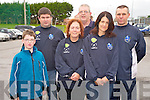 Pictured at the start of the Killorglin Rugby Club fun run in JP O'Sullivan Park on Saturday were Nicky Roberts, Maddy Foley, Niall Murphy, Colm Conway, Brendan Murphy and Richard O'Brien.