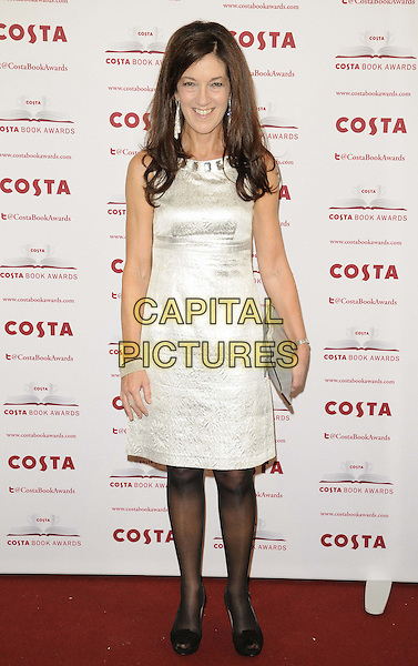 LONDON, ENGLAND - JANUARY 28: Victoria Hislop attend the Costa Book Of The Year Award 2013, Quaglino's bar &amp; restaurant, Bury St., on Tuesday January 28, 2014 in London, England, UK.<br /> CAP/CAN<br /> &copy;Can Nguyen/Capital Pictures