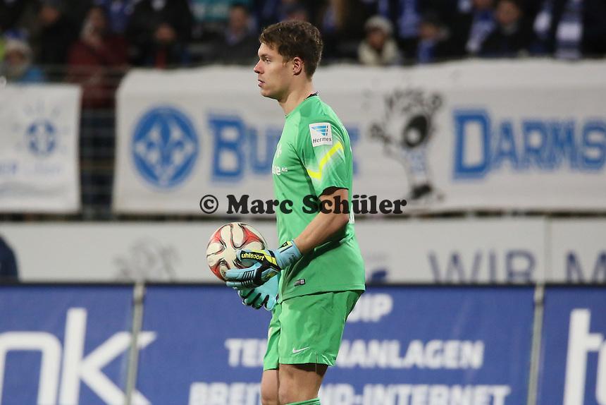 Christian Mathenia (SV98)  - SV Darmstadt 98 vs. 1. FC Union Berlin, Stadion am Boellenfalltor