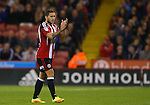 Billy Sharp of Sheffield Utd leaves the field during the League One match at Bramall Lane Stadium, Sheffield. Picture date: September 27th, 2016. Pic Simon Bellis/Sportimage
