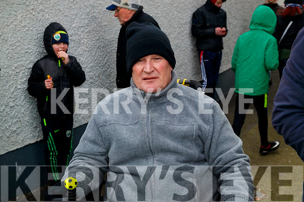 Michael McCarthy, Ardfert, attending the Allianz Football League Kerry v Galway, at Austin Park, Tralee, on Sunday last.