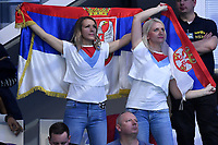 Serbia fans   <br /> Budapest 26/01/2020 Duna Arena <br /> ITALY (white caps) Vs. SERBIA (blue caps) Men <br /> Final 5th - 6th place <br /> XXXIV LEN European Water Polo Championships 2020<br /> Photo  © Andrea Staccioli / Deepbluemedia / Insidefoto