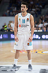 Real Madrid Facundo Campazzo during Turkish Airlines Euroleague match between Real Madrid and Khimki Moscow at Wizink Center in Madrid, Spain. November 02, 2017. (ALTERPHOTOS/Borja B.Hojas)