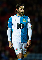 Blackburn Rovers' Danny Graham <br /> <br /> Photographer Andrew Kearns/CameraSport<br /> <br /> The EFL Sky Bet Championship - Blackburn Rovers v Nottingham Forest - Tuesday 1st October 2019  - Ewood Park - Blackburn<br /> <br /> World Copyright © 2019 CameraSport. All rights reserved. 43 Linden Ave. Countesthorpe. Leicester. England. LE8 5PG - Tel: +44 (0) 116 277 4147 - admin@camerasport.com - www.camerasport.com