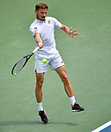 August  17, 2019:  David Goffin (ESP) defeated Richard Gasquet (FRA) 6-3, 6-4, at the Western & Southern Open being played at Lindner Family Tennis Center in Mason, Ohio. ©Leslie Billman/Tennisclix/CSM