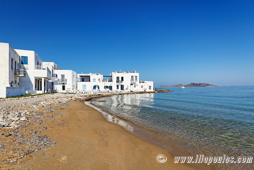 The traditional village of Naousa in Paros island, Greece