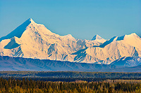 Mount Hayes of the Alaska range in Alaska's interior.