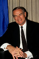 FILE PHOTO - <br /> Alberta Premier Don Getty in April 1991.<br /> <br /> Getty passed away tgis February 2016.<br /> <br /> <br /> <br /> MANDATORY CREDIT <br /> PHOTO : Pierre Roussel - Agence Quebec Presse