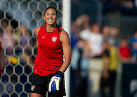 Chester, PA - Sunday, May 27, 2012: The USWNT defeated China 4-1 during an international friendly match at PPL Park.