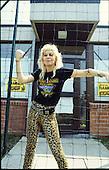 LITA FORD - backstage at the Heavy Sound Festival at Poperinge in Belgium - 10 Jun 1984.  Photo credit: PG Brunelli/IconicPix