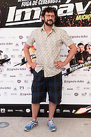 24.07.2012. Presentation at the Madrid Film Academy of the movie 'Impavido&acute;, directed by Carlos Theron and starring by Marta Torne, Selu Nieto, Nacho Vidal, Carolina Bona, Julian Villagran and Manolo Solo. In the image Manolo Solo (Alterphotos/Marta Gonzalez) /NortePhoto.com*<br />