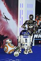 "Droids<br /> arriving for the ""Star Wars: The Rise of Skywalker"" premiere at the Cineworld Leicester Square, London.<br /> <br /> ©Ash Knotek  D3545 17/12/2019"