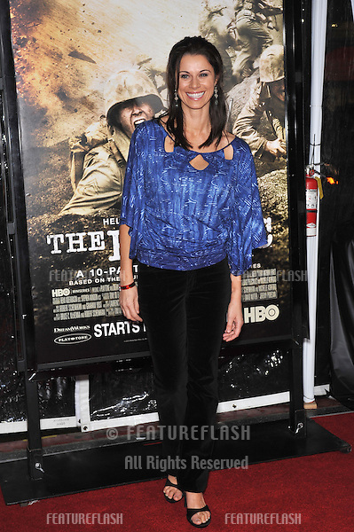 """Jennifer Taylor at the premiere of HBO miniseries """"The Pacific"""" at Grauman's Chinese Theatre, Hollywood..February 24, 2010  Los Angeles, CA.Picture: Paul Smith / Featureflash"""