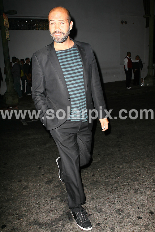 **ALL ROUND PICTURES FROM SOLARPIX.COM**.**WORLDWIDE SYNDICATION RIGHTS**.**NO PUBLICATION IN AUSTRALIA, DENMARK, GERMANY, NEW ZEALAND, RUSSIA, UK OR USA**.The Hollywood actor Billy Zane seen leaving Beso Restaurant in Hollywood Los Angeles California in the USA...JOB REF:7094-LAP/HD       DATE:23_08_08 .**MUST CREDIT SOLARPIX.COM OR DOUBLE FEE WILL BE CHARGED* *UNDER NO CIRCUMSTANCES IS THIS IMAGE TO BE REPRODUCED FOR ANY ONLINE EDITION WITHOUT PRIOR PERMISSION*