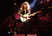 Rising Force - guitarist Yngwie J Malmsteen performing live on the Odyssey Tour at the Dominion Theatre, London - 20 Nov 1988.  Photo credit: George Chin/IconicPix