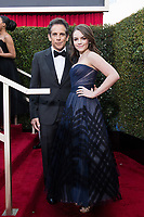 Ben Stiller and Ella Olivia Stiller attend the 76th Annual Golden Globe Awards at the Beverly Hilton in Beverly Hills, CA on Sunday, January 6, 2019.<br /> *Editorial Use Only*<br /> CAP/PLF/HFPA<br /> Image supplied by Capital Pictures
