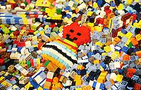 Nederland  Utrecht 2016. Lego World in de Jaarbeurs. Dinsdag 18 tot en met maandag 24 oktober is de Utrechtse Jaarbeurs het domein van de 16e editie van LEGO®World, het grootste LEGO spektakel ter wereld.   Foto Berlinda van Dam / Hollandse Hoogte