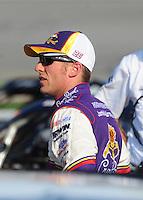May 2, 2008; Richmond, VA, USA; NASCAR Sprint Cup Series driver Jamie McMurray during qualifying for the Dan Lowry 400 at the Richmond International Raceway. Mandatory Credit: Mark J. Rebilas-US PRESSWIRE