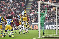 gol Roberto Inglese. Goal Parma 0-1 <br /> Milano 2-12-2018 Stadio San Siro Football Calcio Serie A 2018/2019 AC Milan - Parma Foto Image Sport / Insidefoto