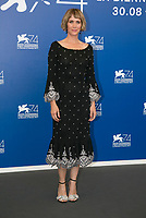 Kristen Wiig attends the photocall of 'Downsizing' during the 74th Venice Film Festival at Palazzo del Cinema in Venice, Italy, on 30 August 2017. <br /> <br /> - NO WIRE SERVICE &middot; Photo: Hubert Boesl/dpa /MediaPunch ***FOR USA ONLY***