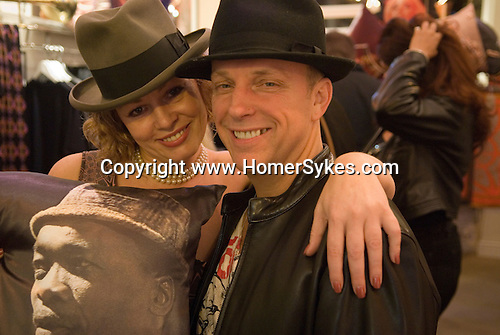 Suzy Reed David Redfern opening party The Exclusive Jimmy Hendrix Collection. London Sept 2010