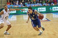 Konstantin Klein (Skyliners) gegen Acha Njei (Artland)- Fraport Skyliners vs. Artland Dragons Quakenbrueck, Fraport Arena Frankfurt