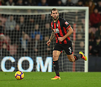 Bournemouth's Steve Cook <br /> <br /> Photographer David Horton/CameraSport<br /> <br /> The Premier League - Bournemouth v Brighton and Hove Albion - Saturday 22nd December 2018 - Vitality Stadium - Bournemouth<br /> <br /> World Copyright © 2018 CameraSport. All rights reserved. 43 Linden Ave. Countesthorpe. Leicester. England. LE8 5PG - Tel: +44 (0) 116 277 4147 - admin@camerasport.com - www.camerasport.com