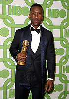 06 January 2019 - Beverly Hills , California - Mahershala Ali. 2019 HBO Golden Globe Awards After Party held at Circa 55 Restaurant in the Beverly Hilton Hotel. <br /> CAP/ADM/FS<br /> &copy;FS/ADM/Capital Pictures