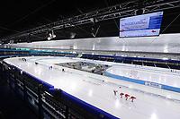 SCHAATSEN: HEERENVEEN: IJsstadion Thialf, 06-12-2016, ISU World Cup-training, overzicht, ©foto Martin de Jong