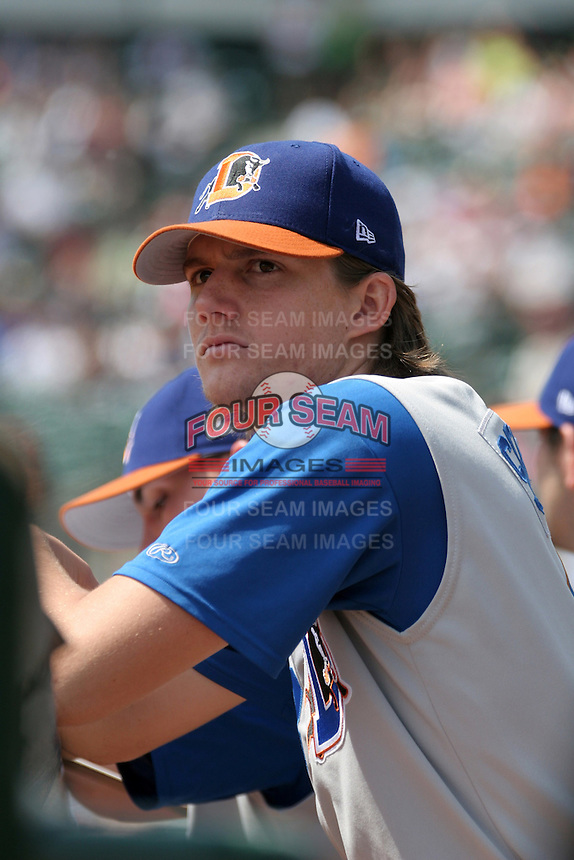 Durham Bulls Chris Seddon during an International League game at Frontier Field on June 6, 2006 in Rochester, New York.  (Mike Janes/Four Seam Images)