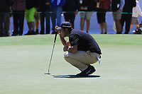 C.T. Pan (International) on the 15th green during the First Round - Four Ball of the Presidents Cup 2019, Royal Melbourne Golf Club, Melbourne, Victoria, Australia. 12/12/2019.<br /> Picture Thos Caffrey / Golffile.ie<br /> <br /> All photo usage must carry mandatory copyright credit (© Golffile | Thos Caffrey)