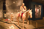 WY: Wyoming, Cody: Buffalo Bill Historical Center...Plains Indians Museum, how the Indians traveled.Photo #: yellow623..Photo copyright Lee Foster, 510/549-2202, lee@fostertravel.com, www.fostertravel.com..
