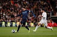 23rd November 2019; Estadio Santiago Bernabeu, Madrid, Spain; La Liga Football, Real Madrid versus Real Sociedad; Mikel Oyarzabal (Real Sociedad)  breaks forward on the ball