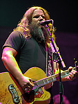 Jamey Johnson performs at Wright State University's Nutter Center in Dayton, Ohio.