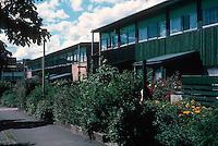 Ralph Erskine: Byker Redevelopment, Newcastle. Photo '90.