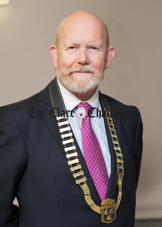 Ennis Chamber President Pat Morris. Photograph by John Kelly.