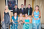 BLUE: Blue was the colour by the girls at the Presentation Miltown Debs, on Thursday night in The Abbey Gate Hotel, Tralee, Front l-r: Yvonne Ostruszkova, Jessica Carroll, Noreen Griffin, Michelle Griffin and Kirstie Devane (Miltown). Back l-r: Kareem Qasim and Stephen Dennehy (Miltown) and Michael McSweeney (Killarney).....