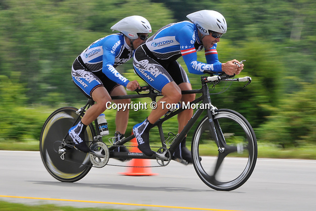 Masters Natiional Championship Time Trial,.Taylorsville, KY July 1, 2009