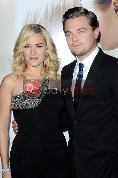 Kate Winslet and Leonardo DiCaprio <br /> at the World Premiere of 'Revolutionary Road'. Mann Village Theater, Westwood, CA. 12-15-08<br /> Dave Edwards/DailyCeleb.com 818-249-4998