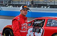 Apr 16, 2009; Avondale, AZ, USA; NASCAR Camping World Series West driver David Gilliland during qualifying prior to the Jimmie Johnson Foundation 150 at Phoenix International Raceway. Mandatory Credit: Mark J. Rebilas-