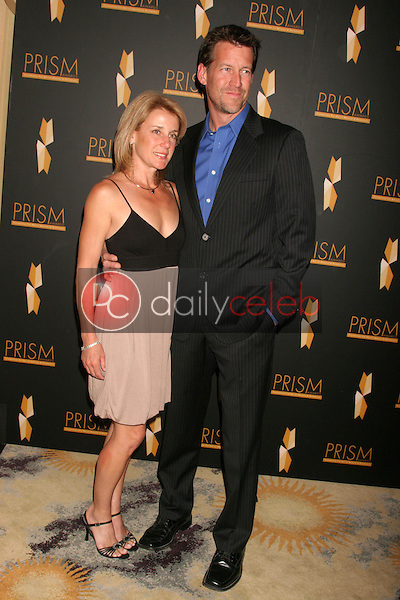 Erin O'Brien Denton and James Denton<br />at the 12th Annual PRISM Awards. Beverly Hills Hotel, Beverly Hills, CA. 04-24-08<br />Dave Edwards/DailyCeleb.com 818-249-4998