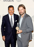 Richard Plepler and Nikolaj Coster-Waldau at The George Foster Peabody Awards at the Waldorf Astoria in New York City. May 21, 2012. © Laura Trevino/MediaPunch Inc.