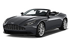 2019 Aston Martin DB11-Volante - 2 Door Convertible Angular Front stock photos of front three quarter view