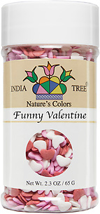 10833 Nature's Colors Funny Valentine, Small Jar 2.3 oz, India Tree Storefront