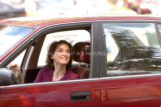 WWW.ACEPIXS.COM . . . . .  ....August 4, 2006, New York City. ....Winona Ryder on the set of 'The Ten'. ......Please byline: AJ Sokalner - ACEPIXS.COM..... *** ***..Ace Pictures, Inc:  ..(212) 243-8787 or (646) 769 0430..e-mail: info@acepixs.com..web: http://www.acepixs.com