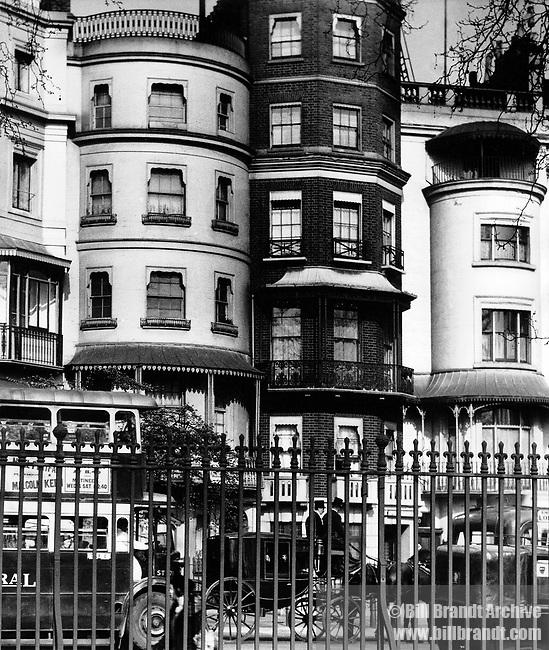 Regency Houses, Park Lane, Mayfair 1930s
