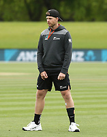 Lockie Ferguson  of New Zealand. New Zealand and England T20 cricket team training at Hagley Oval in Christchurch, New Zealand on Thursday, 31 October 2019. Photo: Martin Hunter/ lintottphoto.co.nz