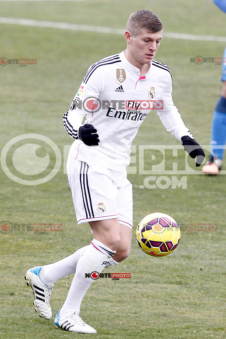 Real Madrid's Toni Kroos during La Liga match.January 18,2013. (ALTERPHOTOS/Acero) /NortePhoto<br />